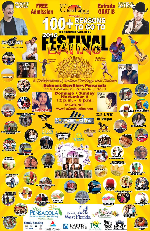 2016 Latino Festival Poster