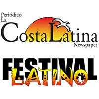 La Costa Latina and Latino Festival Logos