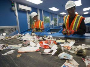 ECUA Recycling Sorters