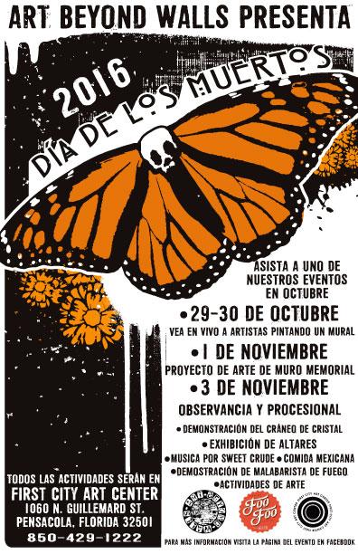 Dia de los Muertos, jueves, 3 de noviembre, 2016