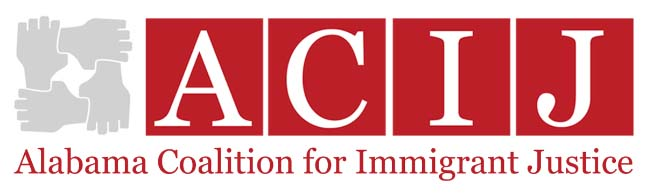 Alabama Coalition for Immigrant Justice logo