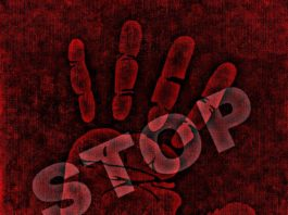 stop discrimination hand