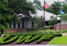 UWF campus entrance