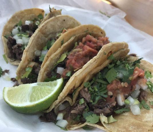Tacos at El Asador Pensacola