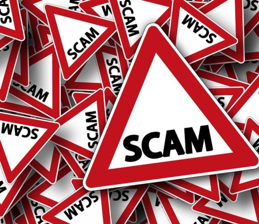 Scam warning signs