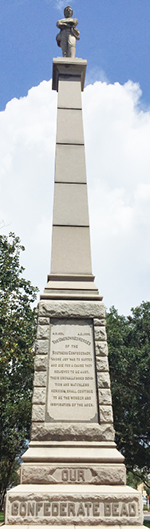 Robert E. Lee Monument in Pensacola, Fl.
