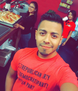 pizza shop workers