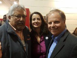 Frank Barragan, Luise and Doug Jones