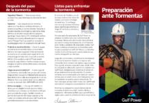 Gulf Power Spanish brochure page 1