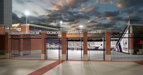Baseball stadium entry gates