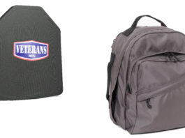 backpack and bullet proof padding