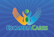 escambia cares logo