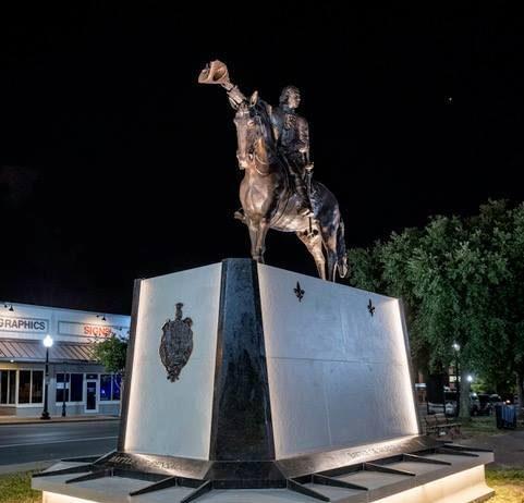 Galvez monument in Pensacola, Fla.
