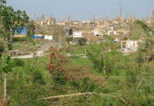 town destruction after tornado