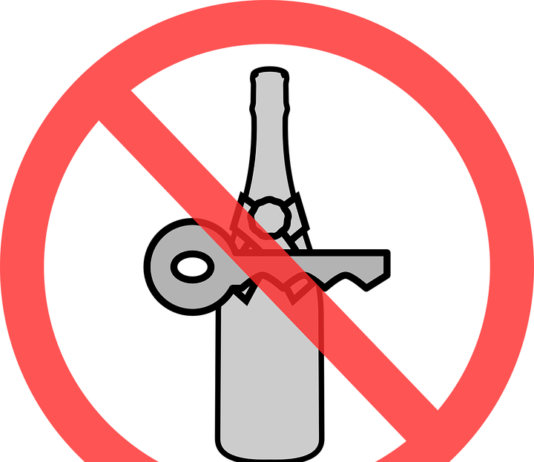 Dont drink and drive symbol