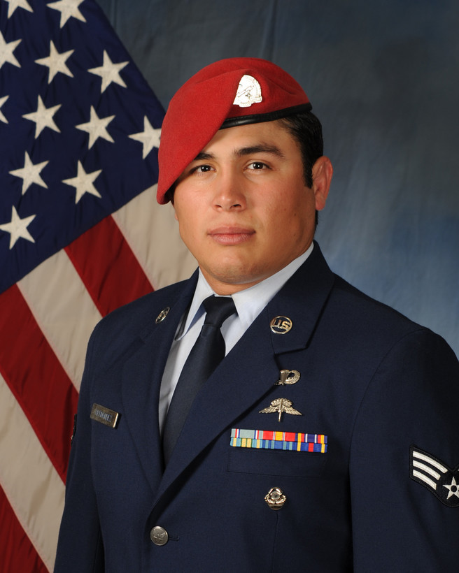 U.S. airman in uniform