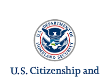 U.S. Citizen and Immigration Services logo