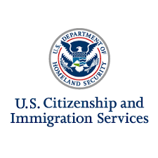 U.S. Citizen and Immigration Services logo