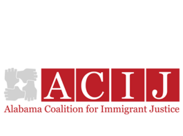 Alabama Coalition for Immigrant Justice logo