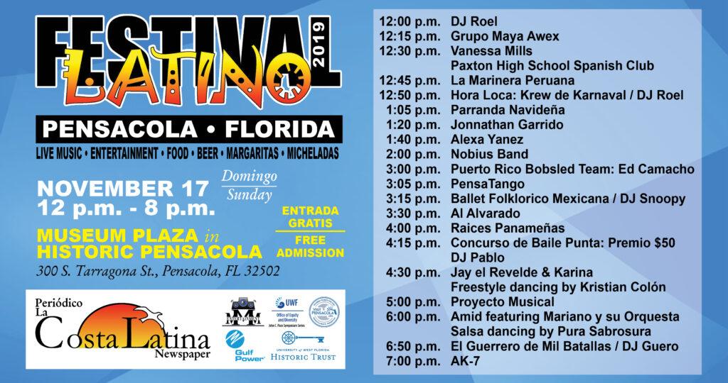 2019 latino festival event schedule
