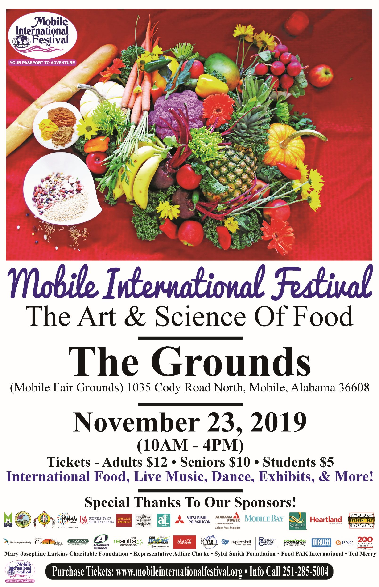 2019 Mobile International Festival Poster