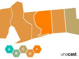 Gulf Coast counties maps
