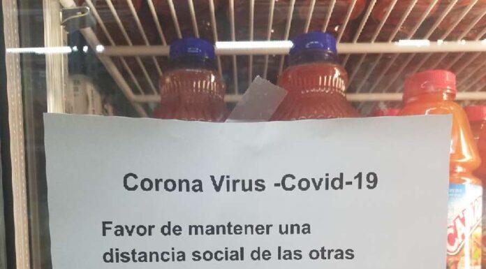 Flyer in spanish language