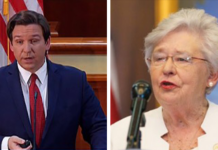 florida governor desantis and alabama governor ivey