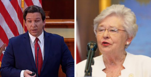 florida governor desantis and alabama governor ivey