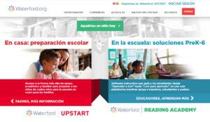 waterford homepage