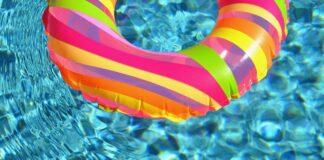 float in pool