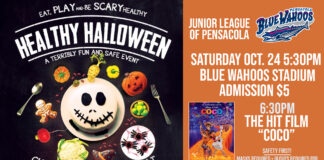 Halloween Event flyer