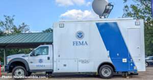 FEMA vehicle