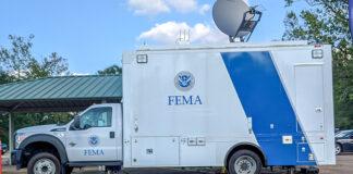 FEMA vehicle