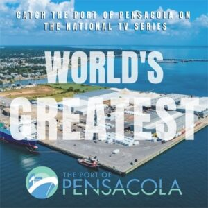 Areal view of Pensacola