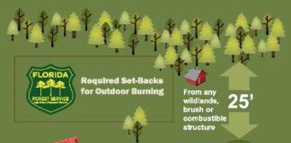 infographic on safe burning